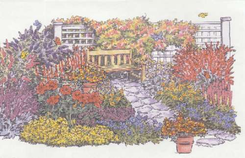 Charming Garden Design 1